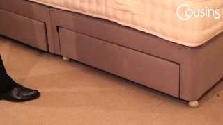 Caring For Your Divan Bed - Storage Drawers