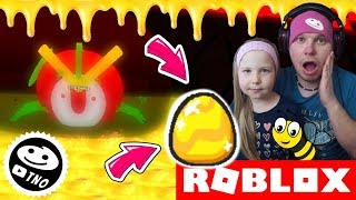 🐝🥚 MEGA BEETLE and GOLDEN EGG-Bee Swarm Simulator! | Roblox | Daddy and Barunka CZ/SK