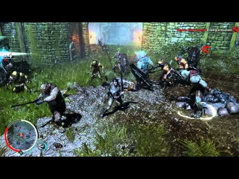 Shadow of Mordor Lord of the Hunt DLC - Walkthrough Part 2: Branding the Captains