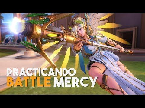 Practicando mi Mercy de Combate | Overwatch