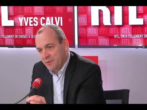 Laurent Berger, invité de RTL du 13 janvier 2020