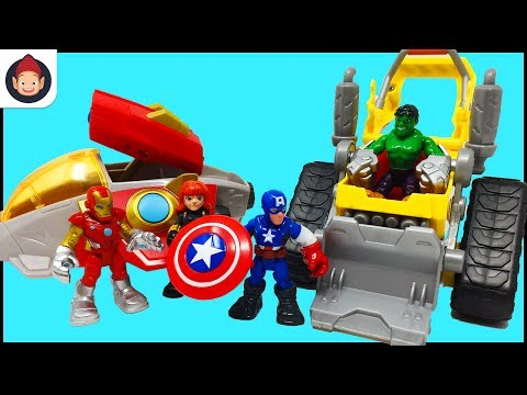 Playskool Heroes Marvel Super Hero Adventures Spider Ma