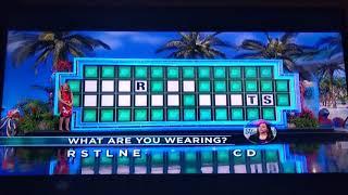 Wheel of Fortune Bonus Round (November 2, 2018)