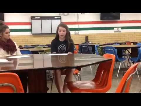 Salem Community High School: Verizon App Team Video Let's Eat