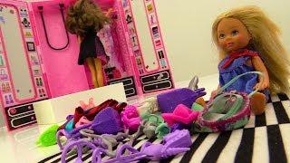 Штеффи спрятала обувь БАРБИ. Игры одевалки для девочек