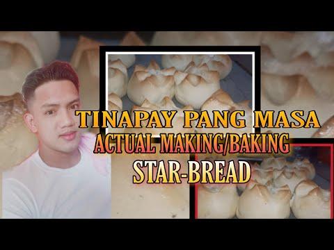 ACTUAL MAKING/BAKING) [STARBREAD] TINAPAY PANGMASA  _PHILIPPINES