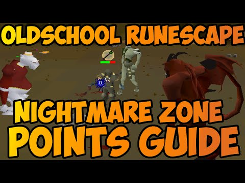 Oldschool Runescape - Nightmare Zone Fastest Points Guide! | 1m+ NMZ Points/Hour!
