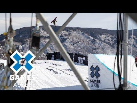 Women's Snowboard Big Air: FULL BROADCAST | X Games Aspen 2018