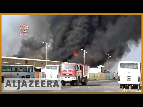 🇾🇪Saudi-led coalition resumes air raids on Hodeidah after 2-day lull | Al Jazeera English