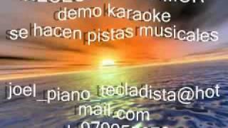 NECESITO UN AMOR demo karaoke