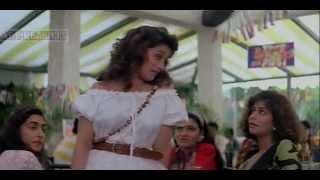 Madhuri Dixit erotic upskirt from Raja