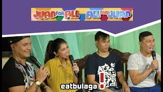 Juan For All, All For Juan Sugod Bahay   January 12, 2018