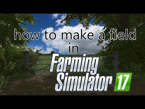 giants editor tutorial | How to make a field #1