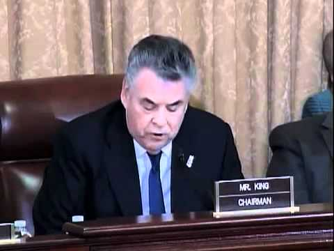 Peter King's Opening Statement At Muslim Hearing