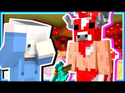 【Minecraft | 暮光森林】#13 米諾菇的巢穴❓居然掉了一個強大的鑽石斧😱