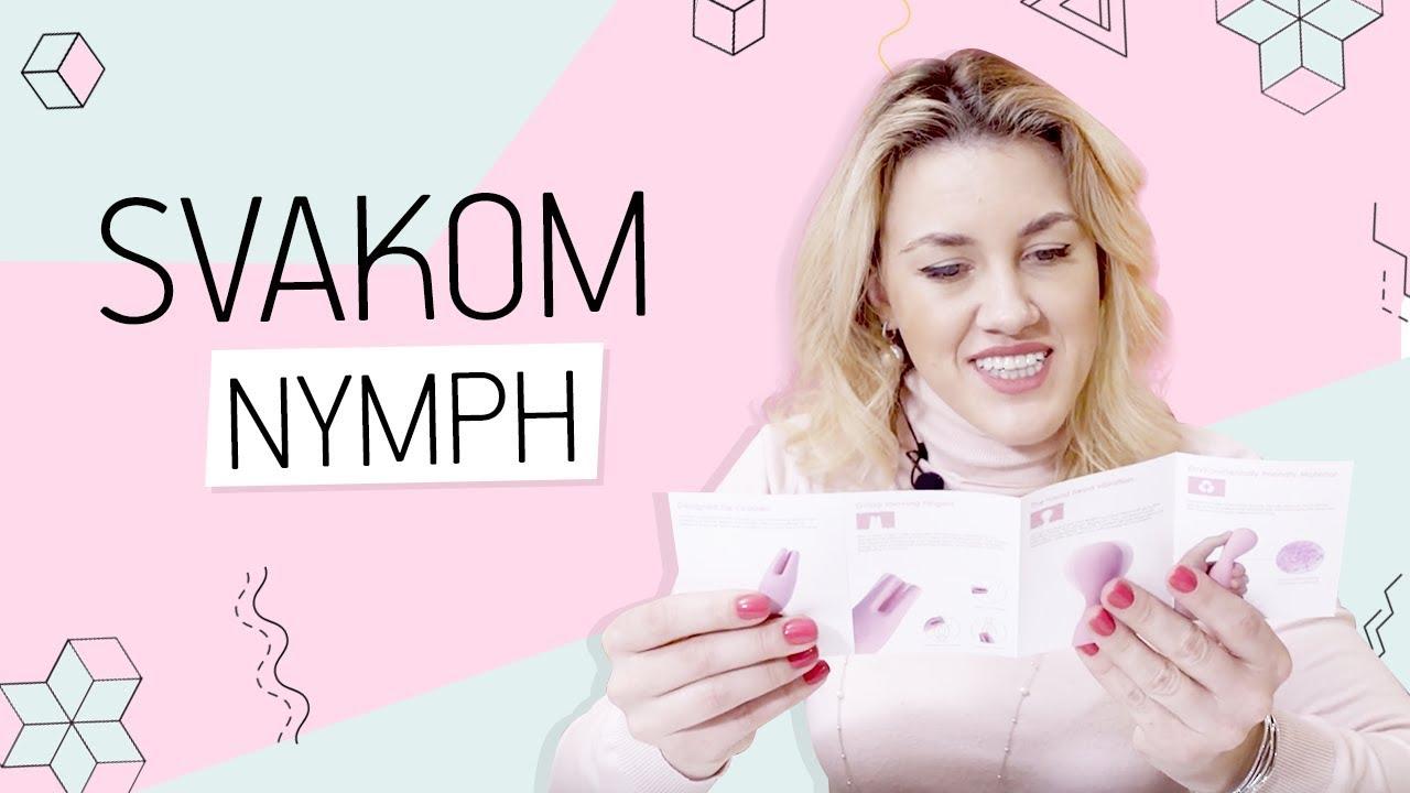 Вибратор Nymph от SVAKOM 18+