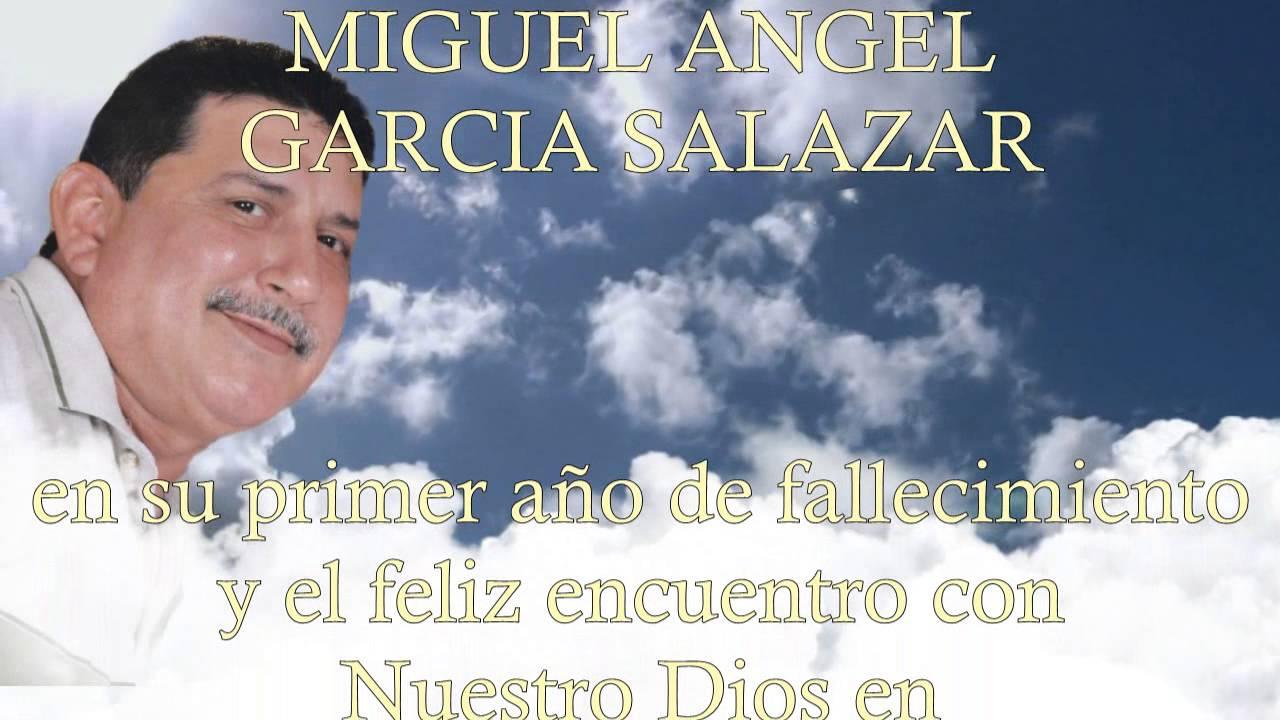 Frases Para Un Aniversario: 1 Año De Fallecido De Miguel Angel