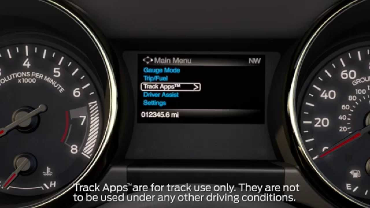 ford mustang apps