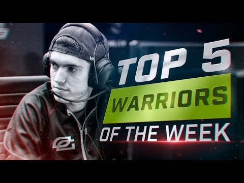 OpTic Octane RUINS Accuracy tK - COD WWII: TOP 5 PRO WARRIORS #18 - Call of Duty World War 2