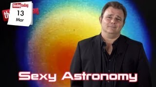 March 13: Jeremy Ratchford. Sexy Astronomy. Easy. This Day Today