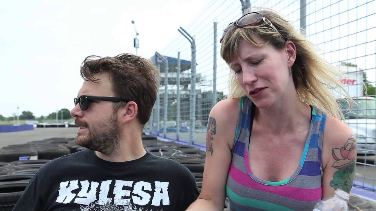 Tanner Foust From Top Gear Gives Byts Jenn Tisdale And Brandon Wetherbee A Ride