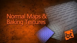 Normal Maps & Baking Textures in Blender 2.6x