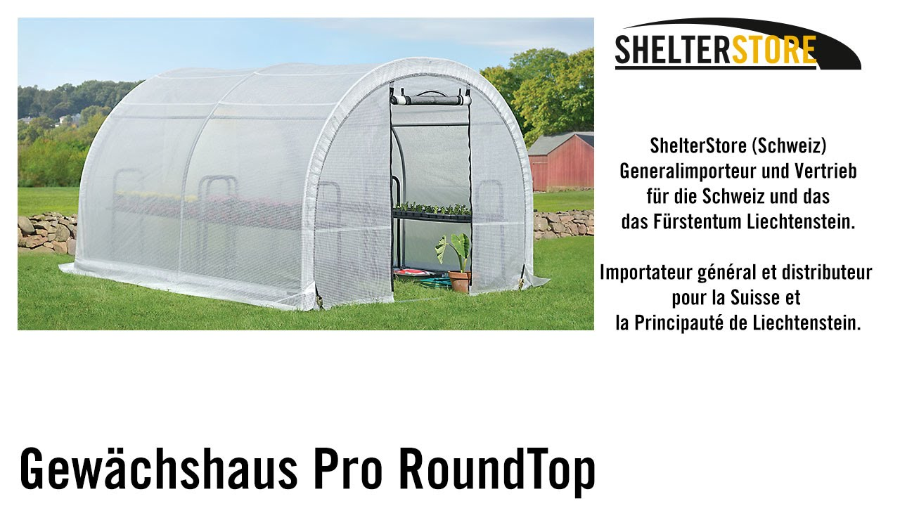 Shelterlogic Greenhouse In A Box Pro Roundtop Shelterstore