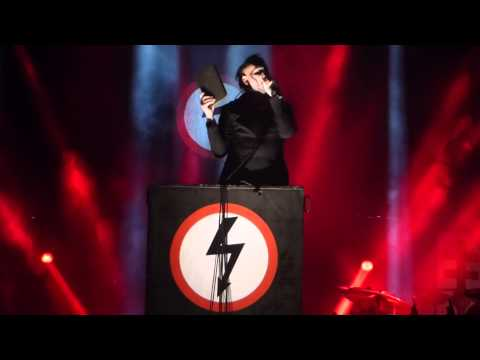"""Antichrist Superstar"" Marilyn Manson@Susquehanna Bank Center Camden, NJ 8/2/15"