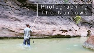 Landscape Photography - The Narrows, Zion National Park. When to use a Polarizer Filter
