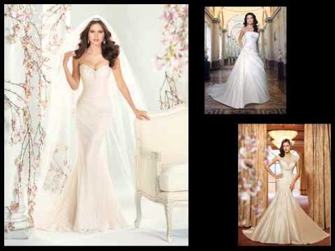Wedding Dresses | Simple, Vintage Wedding Gowns - YouTube