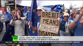 Cost of #Brexit: Legal fees brought against govt revealed