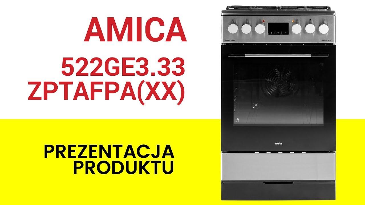 Kuchnia Amica 522ge333zptafpaxx