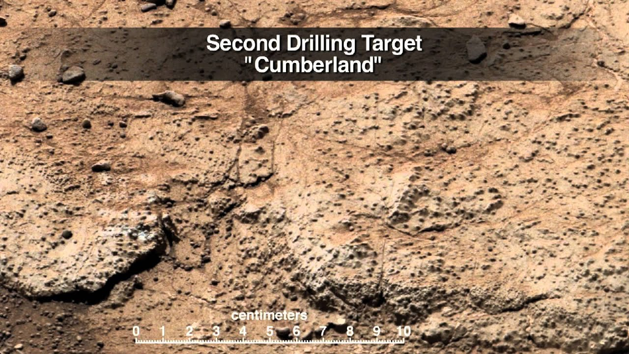 Curiosity Drills Into Mars Again - First Image | Video ... - photo#11