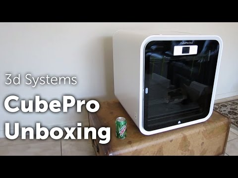 CubePro 3D Printer Unboxing