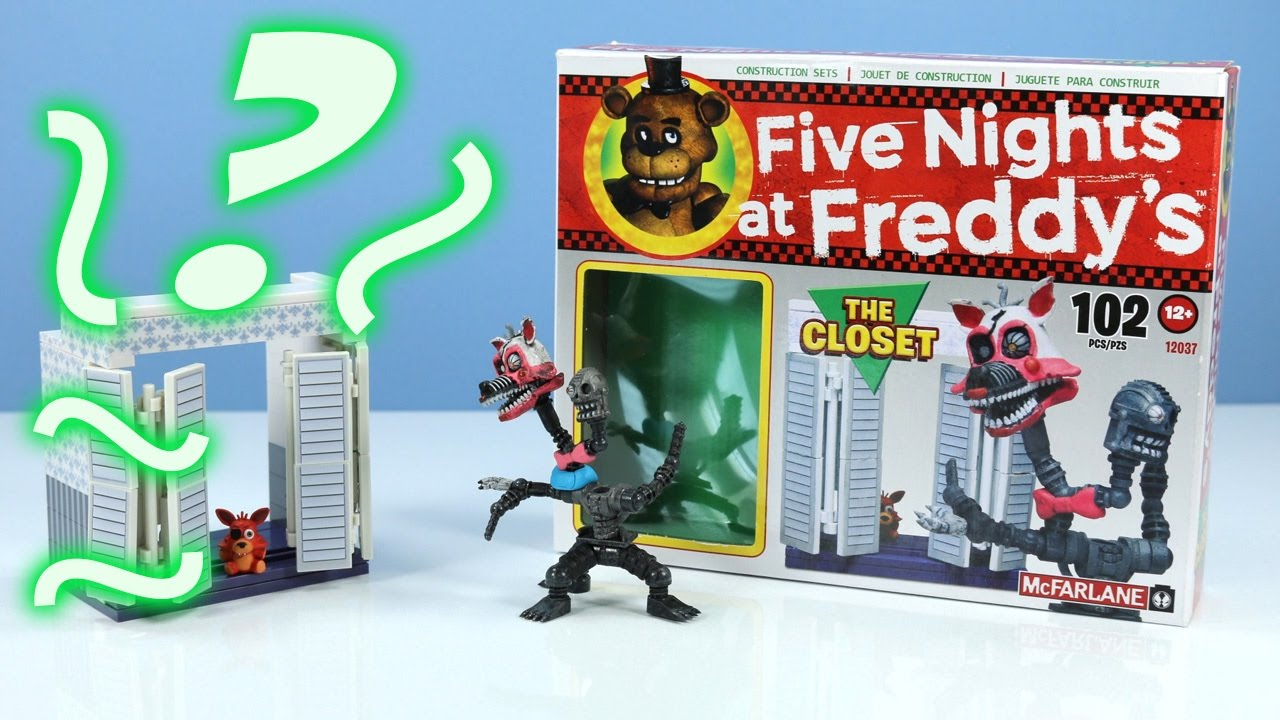 Five Nights At Freddyu0027s 4 The Closet With Nightmare Mangle McFarlane