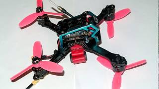 Обзор CADDX Turtle - мини камера для курса и для видео