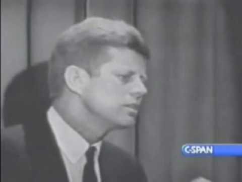 John F. Kennedy on Separation of Church and State, PART TWO