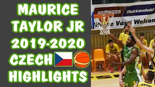 Maurice Taylor Jr Czech Republic 2019-2020 Highlights
