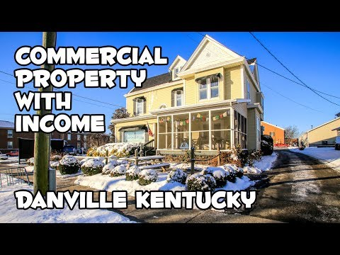 Commercial property for sale Danville KY income investment property