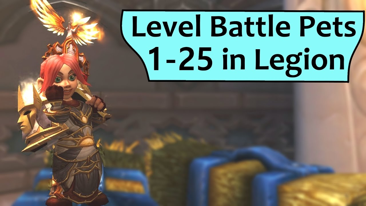 Level Battle Pets 1-25 in Legion Without Battling!