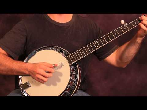 Beginning Banjo Lesson - Chords in G Major (With Tab)