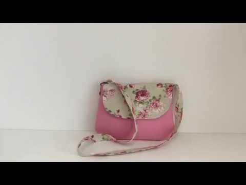 Coudre Sac Tuto À Youtube Un Facile Couture Petit Bandoulière Madalena HIWD29YE