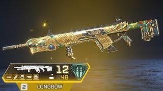i'm literally INSANE with this golden longbow in apex legends..