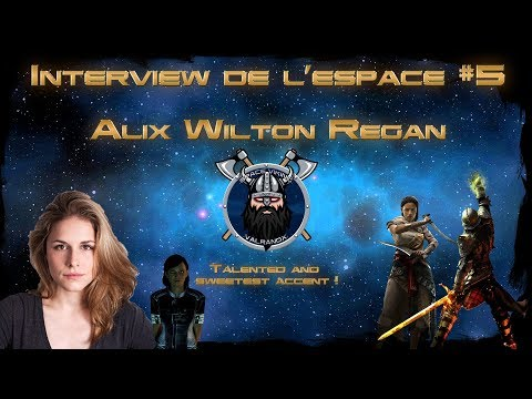 FREN  Exclusive Alix Wilton Regan Officer Traynor Mass Effect 3