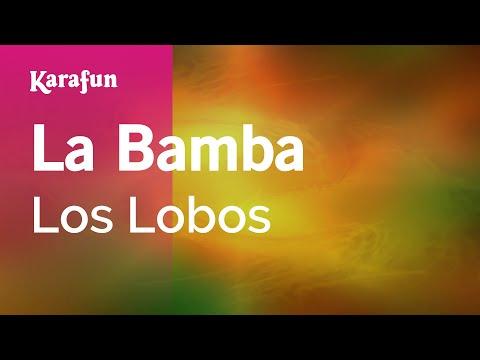 Karaoke La Bamba  Los Lobos *