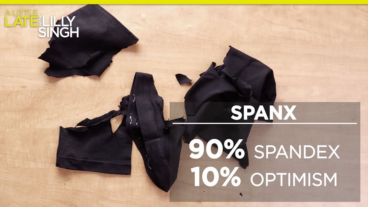 Exposing What Spanx Is Made Of