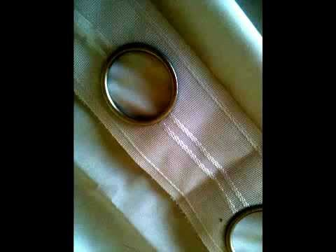 Make Elegant Ring Stud Curtains Youtube
