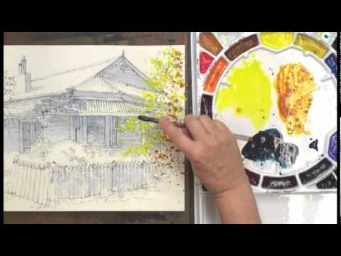 Preview | Watercolor Without Boundaries with Karlyn Holman, Part 1