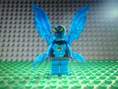 Custom Ben 10 Lego figures (2nd video)