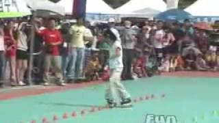 Xu Xinyu Freestyle Inline Skates